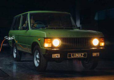Lunaz fonde passato e futuro, ecco la Range Rover elettrica