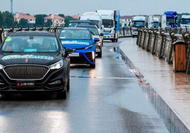 Shanghai avrà 10mila auto a idrogeno circolanti entro due anni